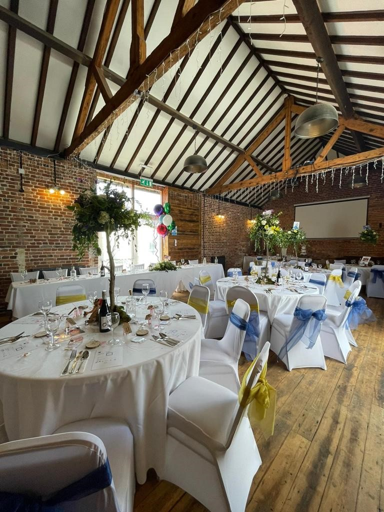 Tithe Barn wedding and function venue at the Elm Tree pub at Ringwood